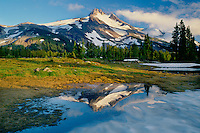 Mt. Jefferson from Jefferson Park<br />