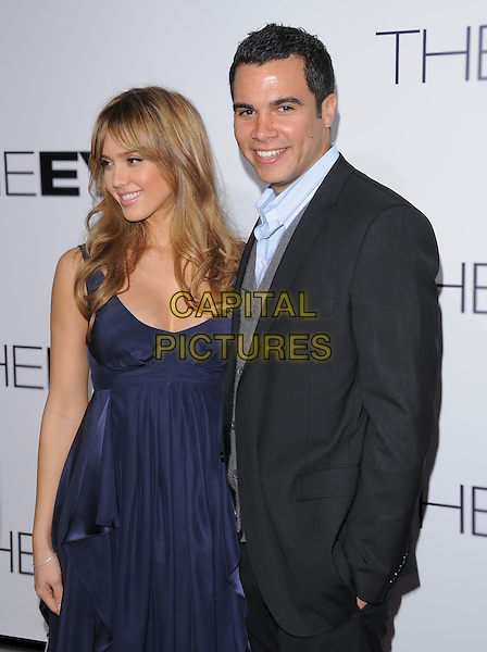 Jessica Alba & Cash Warren attends The Lionsgate World Premiere of The Eye held at The Arclight Cinemas in Hollywood, California on January 31,2008                                                                                      Copyright 2007 Debbie VanStory/RockinExposures