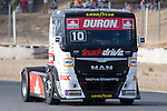 Monegasque driver Ellen Lohr belonging German team Truck Sport Lutz Bernau during the super pole SP2 of the XXX Spain GP Camion of the FIA European Truck Racing Championship 2016 in Madrid. October 02, 2016. (ALTERPHOTOS/Rodrigo Jimenez)