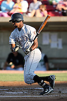 August 17 2008:  Denny Almonte (11) of the Wisconsin Timber Rattlers, Class-A affiliate of the Seattle Mariners, during a game at Philip B. Elfstrom Stadium in Geneva, IL.  Photo by:  Mike Janes/Four Seam Images