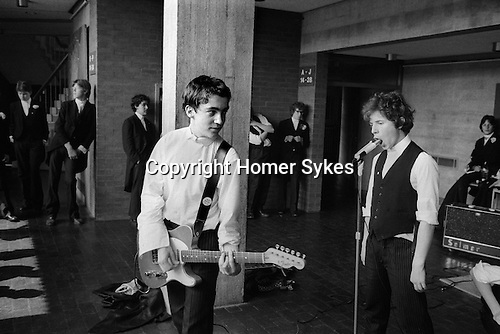 Eton College Parents Day 4th June 1978. School Rock band.