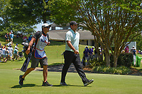 Patrick Reed (USA) heads down 1 during round 1 of the WGC FedEx St. Jude Invitational, TPC Southwind, Memphis, Tennessee, USA. 7/25/2019.<br /> Picture Ken Murray / Golffile.ie<br /> <br /> All photo usage must carry mandatory copyright credit (© Golffile | Ken Murray)