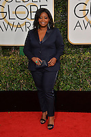 Octavia Spencer at the 74th Golden Globe Awards  at The Beverly Hilton Hotel, Los Angeles USA 8th January  2017<br /> Picture: Paul Smith/Featureflash/SilverHub 0208 004 5359 sales@silverhubmedia.com