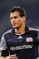 Marko Perovic (29) of the New England Revolution. The New York Red Bulls defeated the New England Revolution 3-0 during a U. S. Open Cup qualifier round match at Red Bull Arena in Harrison, NJ, on May 12, 2010.
