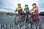 Artor Nowak, Daisy Nowak, and Lilly Nowak Launching the Ardfert Harvest Cycle on Saturday 9th September starting at 10am