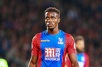 Wilfried Zaha of Crystal Palace during the EPL - Premier League match between Crystal Palace and Liverpool at Selhurst Park, London, England on 29 October 2016. Photo by Steve McCarthy.