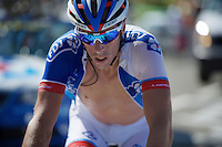 Last man to finish: S&eacute;bastien Chavanel (FRA/FDJ)<br /> <br /> stage 10: Tarbes - La Pierre-Saint-Martin (167km)<br /> 2015 Tour de France