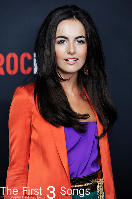 Actress Camilla Belle attends the Gucci/RocNation Pre-Grammy Brunch at Soho House in West Hollywood, CA on Saturday, February 12, 2011.