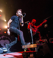 LAS VEGAS, NV - October 1:  Rise Against performs at The Joint at Hard Rock Hotel & Casino on October 1, 2012 in Las Vegas, Nevada. © Kabik/ Starlitepics/MediaPunch Inc. /NortePhoto