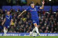 Andreas Christensen of Chelsea in action during Chelsea vs Derby County, Caraboa Cup Football at Stamford Bridge on 31st October 2018