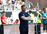 Trainer Pal Dardai (Hertha BSC Berlin) - 21.04.2018: Eintracht Frankfurt vs. Hertha BSC Berlin, Commerzbank Arena