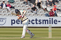 Stephen Eskinazi of Middlesex CCC clips of his hips to fine leg for runs during Middlesex CCC vs Lancashire CCC, Specsavers County Championship Division 2 Cricket at Lord's Cricket Ground on 11th April 2019