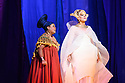 "PHOTOS ARE EMBARGOED UNTIL 19:30 28TH SEPTEMBER 2017. English National Opera presents Verdi's ""Aida"", directed by Phelim McDermott, at the London Coliseum. Picture shows: Latonia Moore (Aida), Michelle DeYoung (Amneris)"