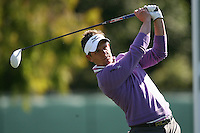 02/16/12 Pacific Palisades, CA: Luke Donald during the first round of the Northern Trust Open held at the Riviera Country Club