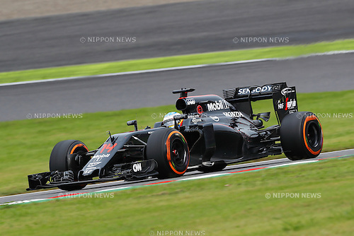 Fernando Alonso (ESP), <br /> OCTOBER 9, 2016 - F1 : Japanese Formula One Grand Prix Final <br /> at Suzuka Circuit in Suzuka, Japan. (Photo by Sho Tamura/AFLO) GERMANY OUT