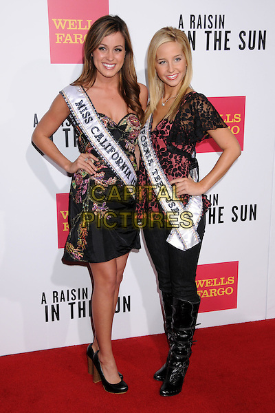 "RAQUEL BEEZLEY & TAYLOR ATKINS.""A Raisin In The Sun"" West Coast Screening at the Magic Johnson AMC Theatre, Los Angeles, California, USA,.11 February 2008..full length.CAP/ADM/BP.?Byron Purvis/Admedia/Capital Pictures"