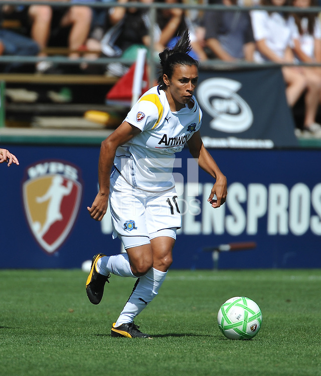 Marta. The Los Angeles Sol defeated FC Gold Pride, 2-0, at Buck Shaw Stadium in Santa Clara, CA on May 24, 2009.