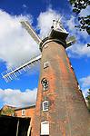 Buttrum's Windmill, Woodbridge, Suffolk, England, UK  built  1836 John Whitmore