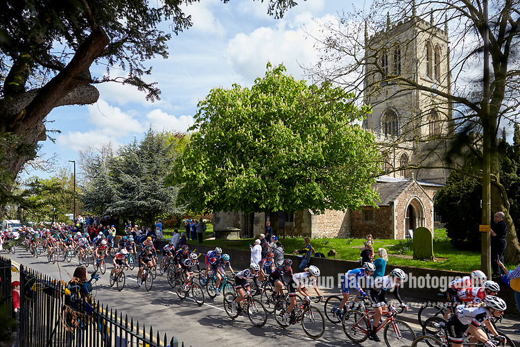 Picture by Shaun Flannery/SWpix.com - 03/05/2018 - Cycling - 2018 Tour de Yorkshire - Stage 1: Beverley - Doncaster - Yorkshire, England -<br /> <br /> Hatfield Church, Doncaster