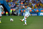 Angel Di Maria (ARG),<br /> JULY 1, 2014 - Football / Soccer : FIFA World Cup Brazil 2014 Round of 16 match between Argentina 1-0 Switzerland at Arena de Sao Paulo in Sao Paulo, Brazil.<br /> (Photo by FAR EAST PRESS/AFLO)