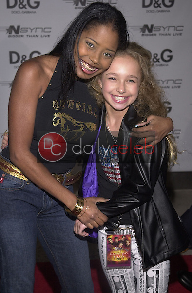 Shar Jackson and Hayden Panettiere