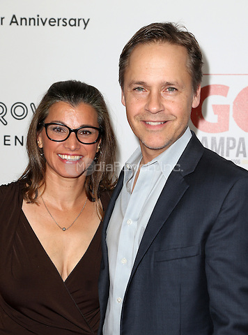 Los Angeles, CA - NOVEMBER 05: Kim Painter, Chad Lowe at The 10th Annual GO Campaign Gala in Los Angeles At Manuela, California on November 05, 2016. Credit: Faye Sadou/MediaPunch