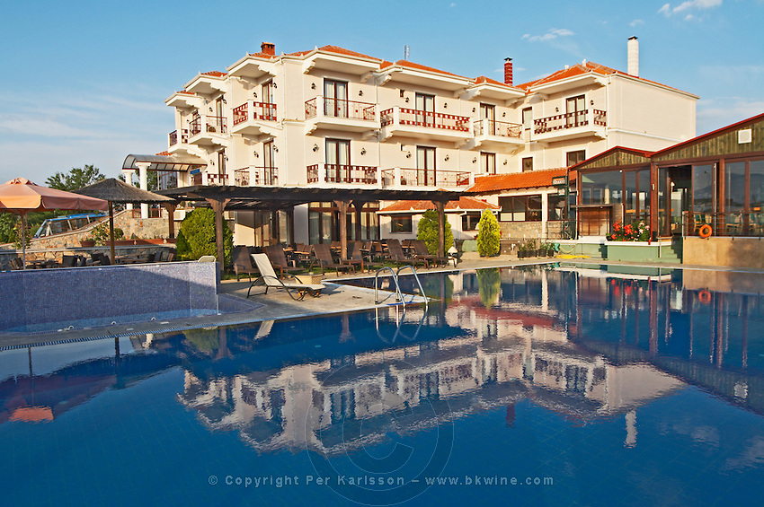 The pool. Ateron suites Hotel, Amindeo, Macedonia, Greece , Amyndeon