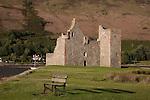 Lochranza Castle in the Isle of Arran, Scotland