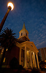 The First Baptist Church in Downtown Tallahassee, Florida.   (Mark Wallheiser/TallahasseeStock.com)