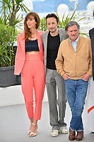 "CANNES, FRANCE. May 21, 2019: Doria Tillier, Michael Cohen & Daniel Auteuil at the photocall for ""La Belle Epoque"" at the 72nd Festival de Cannes.<br /> Picture: Paul Smith / Featureflash"