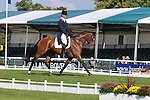 William Fox Pitt riding Parklane Hawk the Thursday lunchtime leader of the 2011 land Rover Burghley Horse Trials