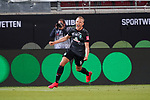 1:2 durch Ludwig Augustinsson (Werder Bremen #05), Klassenerhalt<br /> <br /> <br /> Sport: nphgm001: Fussball: 1. Bundesliga: Saison 19/20: Relegation 02; 1.FC Heidenheim vs SV Werder Bremen - 06.07.2020<br /> <br /> Foto: gumzmedia/nordphoto/POOL <br /> <br /> DFL regulations prohibit any use of photographs as image sequences and/or quasi-video.<br /> EDITORIAL USE ONLY<br /> National and international News-Agencies OUT.