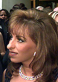 Paula Jones attends a party prior to the White House Correspondents Dinner at the Washington Hilton Hotel in Washington, DC on April 25, 1998.<br /> Credit: Ron Sachs / CNP