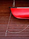Americana.<br /> <br /> Canoe, Grand Lake, Colorado.