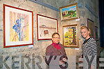 Painting Exhibition: Pictured at the opening of her exhibition of paintings at St. John's Arts Centre in Listowel French artist Ghislaine Giustiniani and Sharon Farrelly of Listowel.