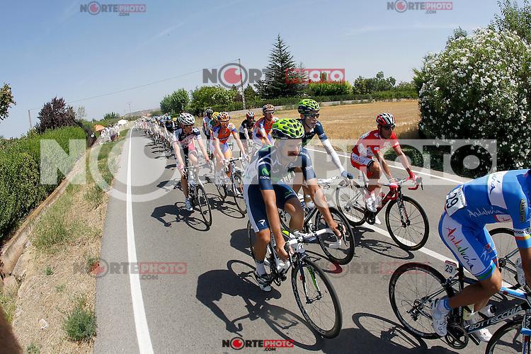 Juan Jose Cobo during the stage of La Vuelta 2012 between Logroño and Logroño.August 22,2012. (ALTERPHOTOS/Paola Otero) /NortePhoto.com<br /> <br /> **SOLO*VENTA*EN*MEXICO**<br /> **CREDITO*OBLIGATORIO**<br /> *No*Venta*A*Terceros*<br /> *No*Sale*So*third*<br /> *** No Se Permite Hacer Archivo**<br /> *No*Sale*So*third*