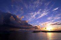 Ensenada sunset..SCORE Baja 2000, Ensenada, Baja California, Mexico.12-14 November,2000 copyright©F.Peirce Williams 2000...F. Peirce Williams .photography.P.O.Box 455 Eaton, OH 45320.p: 317.358.7326  e: fpwp@mac.com.