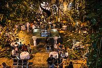 """Aspectos de las exposiciones de Marcela Lobo """"Cuerpos Vibrantes"""" y """"Gustavo Arias Murieta 50 años de trayectoria"""" en el museo MACAY de Merida Yucatan el 19 de Julio del 2013.<br /> Foto: Mauricio Palos /NortePhoto"""