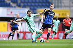 Ermin Bicakcic (Hoffenheim, l.) gegen Dennis Srbeny (SC Paderborn, r.).<br />