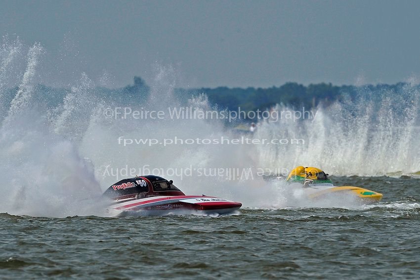 "Matt O'Connor, E-34 ""The Gator"" and Scott Liddycoat, E-50 ""The Mistress"" (5 Litre class hydroplane(s)"