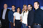 Tracy Letts, Michael C. Hall, Marissa Tomei, Toni Collette, Director Sam Gold and Playwright Will Eno attending 'The Realistic Joneses'  Meet & Greet  at The New 42nd Street Studios on February 20, 2014 in New York City.