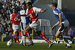 Thierry Henry of Arsenal - Blackburn Rovers v Arsenal - Premier League - Ewood Park Stadium - Blackburn - 15th March 2003 - Pics Simon Bellis