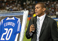 Ronald Cerritos inducted into the San Jose Earthquakes Hall of Fame. The Chicago Fire defeated the San Jose Earthquakes 3-0 at Buck Shaw Stadium in Santa Clara, California on September 29th, 2010.
