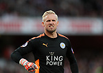 Leicester's Kasper Schmeichel in action during the premier league match at the Emirates Stadium, London. Picture date 11th August 2017. Picture credit should read: David Klein/Sportimage