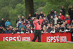 Tongchai Jaidee hits his last drive on the 18th during the final round of the ISPS Handa Wales Open 2012..03.06.12.©Steve Pope
