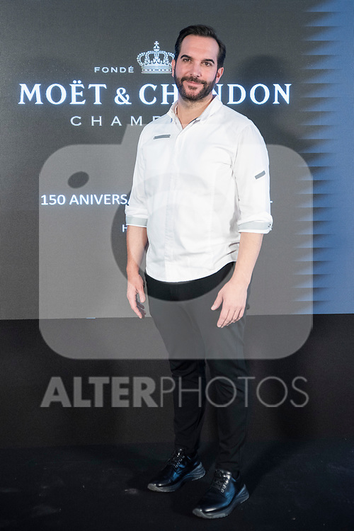 Mario Sandoval In MOËT & CHANDON presents the global celebration project of the 150th anniversary of Moet in the hands of its protagonists<br /> November 13, 2019. <br /> (ALTERPHOTOS/David Jar)