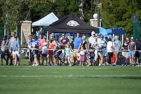 Kansas City, MO - Sunday September 04, 2016: Fans prior to a regular season National Women's Soccer League (NWSL) match between FC Kansas City and the Sky Blue FC at Swope Soccer Village.