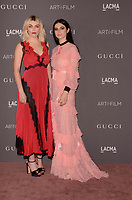 LOS ANGELES, CA - NOVEMBER 04: Lola Fruchtmann, Tali Lennox at the 2017 LACMA Art + Film Gala Honoring Mark Bradford And George Lucas at LACMA on November 4, 2017 in Los Angeles, California. Credit: David Edwards/MediaPunch /NortePhoto.com