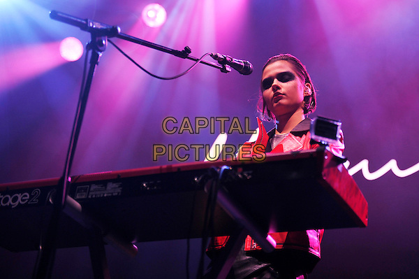 LONDON, ENGLAND - DECEMBER 8: Anna Kupriienko of 'Bloom Twins' performing at O2 Arena on December 8, 2015 in London, England.<br /> CAP/MAR<br /> &copy; Martin Harris/Capital Pictures