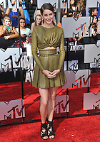 Shailene Woodley at the 2014 MTV Movie Awards at the Nokia Theatre LA Live.<br /> April 13, 2014  Los Angeles, CA<br /> Picture: Paul Smith / Featureflash